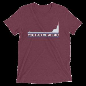 You Had Me At BTC Shirt