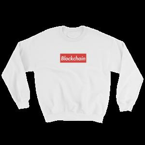 SUPREME BLOCKCHAIN Crew Sweatshirt
