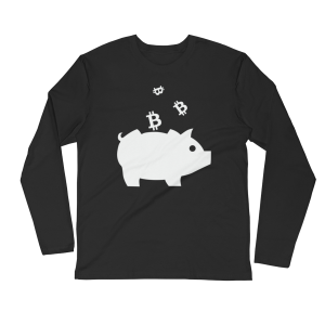 Crypto Piggy Bank L/S