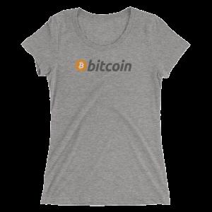 Womens Bitcoin Logo Tee