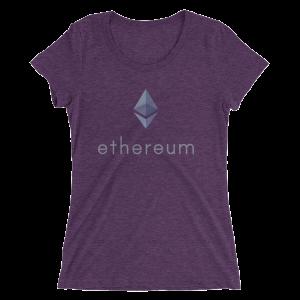 Womens Ethereum Logo Tee