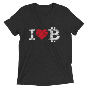 Bitcoin Love Logo Tee