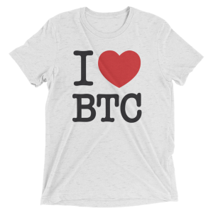 Love Bitcoin Tee
