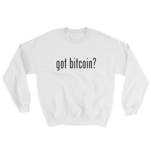 Got Bitcoin Crew Sweatshirt